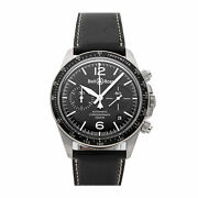 Bell And Ross Br-v2-94 Chronograph Auto Steel Mens Strap Watch Brv294-bl-st/sca