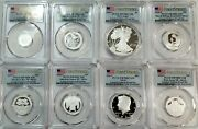 2020 S Limited Edition Proof Set First Strike Silver 8 Coin Set Pcgs Pr70dcam