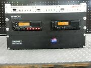 Kenwood 100-watt Uhf 450-470mhz Gmrs Repeater And Duplexer Cwid Plug And Play