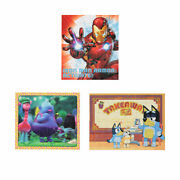 8 Puzzle Pack - Assorted Christmas Gift Toys Kid's 2020 New Item M
