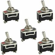 4 Pin Switch Dpst On-off Car Dashboard Toggle Switch 10a 125 Vac 6a 250 Vac Pck5