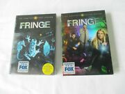 New Complete Seasons 1 And Season 2 Dvd Sets Of Series Fringe Sealed