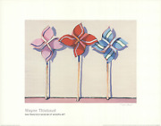 Wayne Thiebaud Three Wind Toys Md Signed 22 X 28 Offset Lithograph Pop Art