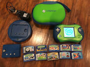 Leap Frog Leapster 2 Learning System W/case+10 Games Star Wars Sonic Nemo+