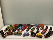 Huge Lot Thomas The Train The Tank Engine And Friends Diecast Metal Trains Mix