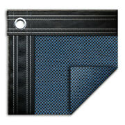 16and039 X 36and039 Rectangle In-ground Swimming Pool Mesh Winter Cover 15 Year - Blue