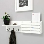 Mail Holder Organzier Wall Mount Key Holder Rack Hanging Entryway Decorative