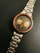 Seiko 6138-0040 Speed Timer Automatic 1976 Antique Brown Dial Men's Watch
