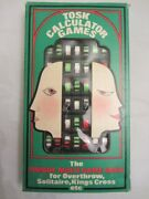 Mini Mind Mover-5 Boxed Calculator Games Instructions 1974 Overthrow Kings Cross