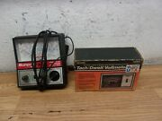 Sears Solid State Electronic Tach Dwell Voltmeter Sunpro Engine Analyzer