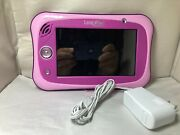 Leapfrog Leappad Ultimate Pink For Parts Only Stylus Charger Rare Leap Pad