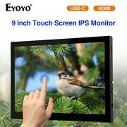Eyoyo 99 Mini Touch Screen Display 1920x1200 Compatible With Mac Laptop Switch