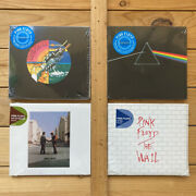 Pink Floyd 4-cd Lot Dark Side / Wish You Were Here / The Wall. New Sealed.
