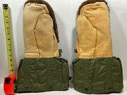 Military Issue Extreme Cold Weather Arctic Mittens With Liners