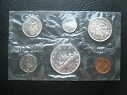 Canada 1963 Unc Coin Set 4 Silver Coins 1 Cent - 1 Dollar Sealed Pack