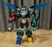 Voltron Lion Force 2017 Playmates 16 Inch Tall 20 Inch Wingspan