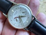 1960and039s Jaeger Lecoultre Futurematic Automatic Power Reserve Gold Filled Bumper