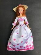Giselle Barbie Doll Disney Enchanted Victorian Fashion Amy Adams With Doll Stand