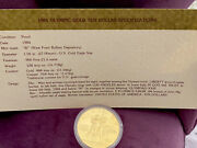 1984 Olympic Ten Dollar Gold Coin W Proof