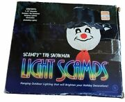 Scampy The Snowman Light Scamps Outdoor Holiday Christmas Decoration