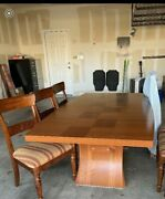 Beautiful Solid Wood Authentic Made In Italy Dining Table