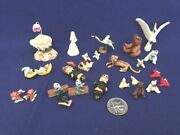 Grab Bags Of Dollhouse Miniature Animals And Other Little Things