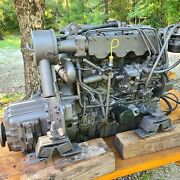 Yanmar 4jh2e Diesel Sailboat Engine With Transmission