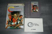 Contra Circle Nintendo Nes Complete In Box Good Shape