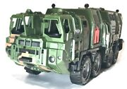 Mobile Command Post Army Vehicle For Gi Joe Oktober Guard Soldier 1/18