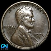 1924 D Lincoln Cent Wheat Penny -- Make Us An Offer K8165