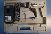 Porter Cable 862 12v Cordless Driver / Drill With Charger And Case - No Battery