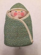 Fisher Price Toys Baby And Blanket Peek A Boo Puppet 422 Vintage 1981 Soft Toy