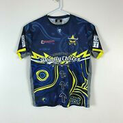 Deadly Choices North Queensland Cowboys Rare Jersey Shirt Size Menand039s Large L