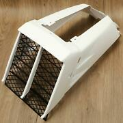 Radiator Cover Grill And Gas Tank Side Covers White For 87-06 Yamaha Banshee 350