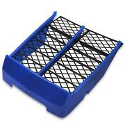 For 1987-2006 Yamaha Banshee Yfz350 Radiator Cover Grill Front Panel Blue