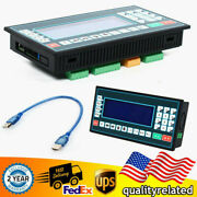 Usb Lcd 1-4 Axes Standalone Motion Controller 150khz Cnc Router Stepper Motor Us