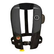 Mustang Survival Md3183/02-gr/bk Mustang Hit Inflatable Pfd Automatic Gray/bl...