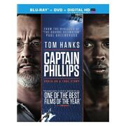 Sony Pictures Home Ent Br41781 Captain Phillips Blu-ray/dvd Combo/ultraviole...