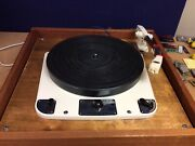 Vintage Garrard Model 301 Schedule No 51400/2 Turntable And 2x Arms