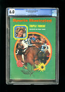 Sports Illustrated Newsstand 1973 Secretariat 6.0 First Rookie Cover