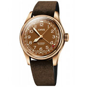 Menand039s Watch Oris Big Crown Bronze Pointer Date New And Original