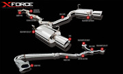 Xforce 3 Back Exhaust System For Subaru Legacy 2010