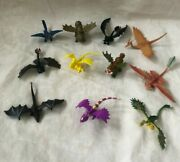 How To Train Your Dragon Lot Of 11 Mini Dragons 2013 Spin Master