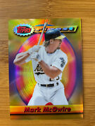 2021 Topps Finest Flashback Mark Mcgwire Sp Gold Refractor Parallel /50 Sold Out