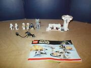 Lego Star Wars 7749 Echo Base Complete With All Figs And Instructions