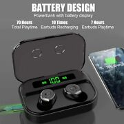 Wireless Headphones Bluetooth Headset Earbuds + Charging Case For Iphone Android