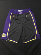 Lakers Shorts Earned Team Issued Authentic Size 40+2 Nike Pro Cut 2020-21