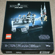 Lego Star Wars Bespin Duel 75294. New In A Sealed Box. 295 Pieces. Hard To Find