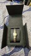 David Yurman Double Cable Classic Sterling Silver And 14k Gold Quartz Ladies Watch