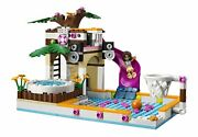 Lego Friends 41008 Heartlake City Pool Diving Board Hot Tub Waterfall 423 Pieces